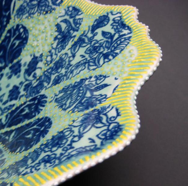 petal bowl 2 - rim detail
