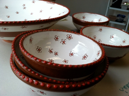 chintz bowls