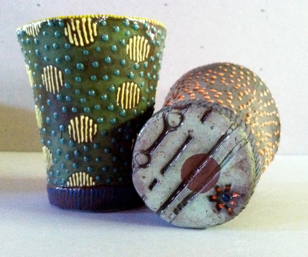 pair of 'shed cups