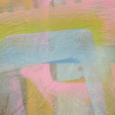 Color inspiration - overspray from mixed media.